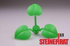 LEGO® 1x 6255 **NEU** Pflanze mit 3 Blätter / Strauch / Busch / Blatt / hellgrün