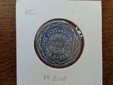 france 5 euros argent 2008 (pièces neuves)