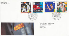 11 GIUGNO 1991 SPORT ROYAL MAIL FIRST DAY COVER meglio SHEFFIELD SHS (A)