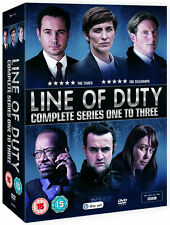 LINE OF DUTY Complete Season Series 1 2 & 3 1-3 Collection Boxset NEW DVD