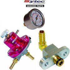 Carburante Sytec regolatore di pressione KIT + INDICATORE CARBURANTE SUBARU IMPREZA WRX STI (92-00)