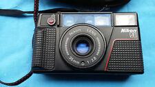 FOTOCAMERA ANALOGICA NIKON L35 AF2 Compact 35mm VINTAGE FUNZIONANTE E BELLA