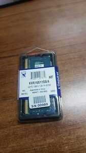 1 PC OF KINGSTON KVR16S11S8/4 4GB 1600MHz DDR3 Non-ECC CL11 SODIMM 1Rx8