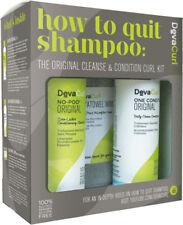 Deva Curl DevaCurl How To Quit Shampoo Kit: No Poo, One Condition & Towel