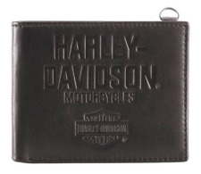 Harley-Davidson® Men's Legendary Leather Bi-Fold Wallet