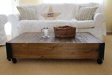 Coffee Table Living Room Table Sofa Table Solid Wood Vintage Shabby Loft Retro M