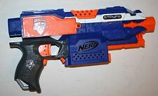 Nerf N-Strike Elite Blue Stryfe Blaster Tested & works Toy Gun Hasbro Motorized