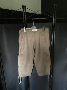 """FAT FACE LADIES CROPPED Cargo Trousers  Size 12 LENGTH 20"""""""