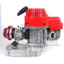47CC 2 Stroke DIY Engine+Air Filter+T8F 14t Gear Box Pocket Bike Mini Dirt Bike