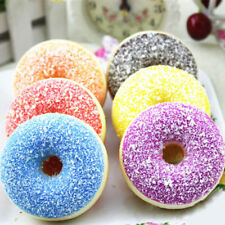 Squishy Colorful Doughnut Slow Rising Scented Squeeze Stress Reliever Fun Toy
