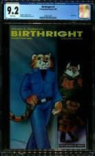 BIRTHRIGHT 2 (CRITTERS 48) CGC 9.2 WHITE PAGES EXTREMLY LOW PRINT FANTAGRAPHICS