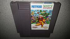 METROID WART'S INVASION NINTENDO NES NRMT CONDITION GAME CARTRIDGE