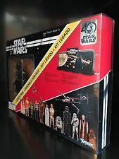 Star Wars Hasbro 40th aniversario legado Deflector caso de exhibición de paquete