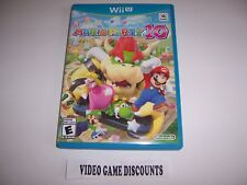Original Box Case for Nintendo Wiiu Wii U Mario Party 10 Ten
