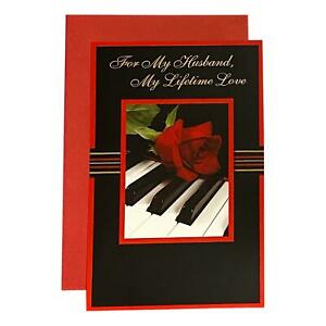 Valentine's Day Greeting Card for Husband - For my Husband, My Lifetime Love - M