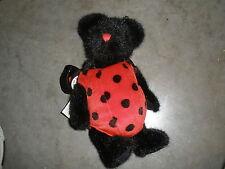 Retired Boyds Plush LADY B BUG Bear Adorable LadyBug Mint w/Tags Style #91775