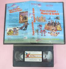 VHS film POMI D'OTTONE E MANICI DI SCOPA 1983 WALT DISNEY VI 4035 (F159) no dvd