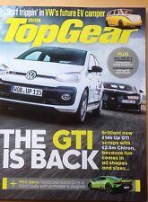 BBC Top Gear Mag. July 2017. The GTI is back. VW EV Camper