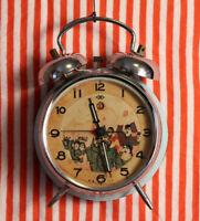 Vintage Chinese Communist Cultural Revolution-Era Alarm Clock 1950's.