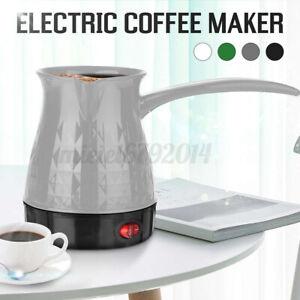 500ml Stainless Electric Coffee Maker Turkish Greek Espresso Moka Pot Machine I