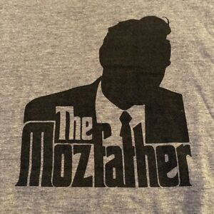 """MORRISSEY """"The Mozfather"""" silhouette grey VINTAGE XL t-shirt The Smiths Grailed"""