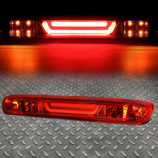 [LED BAR]FOR 07-14 SILVERADO SIERRA THIRD 3RD TAIL BRAKE LIGHT CARGO LAMP RED