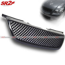 ABS Front Mesh Honeycomb Black Bumper Hood Grill Grille fits 02-04 Nissan Altima