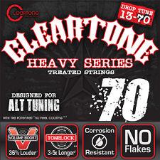 Cleartone Monster Electric Guitar Strings - Drop C - 9470 - 13-70 - 1 Pack