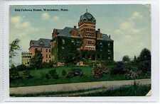 (Lq045-296) Odd Fellows Home, Worcester Mass c1920 Unused, G-VG