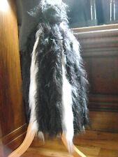 Coda da zebra Pelliccia Sintetica Fancy Dress Costume Zebra bushy coda da zebra Black & White