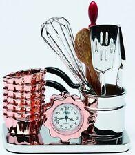 Miniature Sanis Clocks Silver Kitchen Tools Cooking Clock CK503