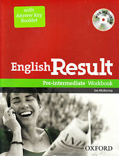Oxford ENGLISH RESULT PRE-INTERMEDIATE Workbook with Answers & MultiROM @NEW@