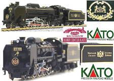 Kato 2016-2 Locomotiva a vapore D51 CIWL Nostalgie Orient Express Scala-n