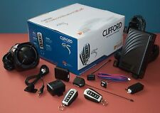 CLIFFORD AVANGUARD 5.5 CAR ALARM+REMOTE START SUPPLIED & FITTED CALL NOW.