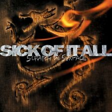 SICK OF IT ALL - SCRATCH THE SURFACE CD (1994) NEW YORK HARDCORE