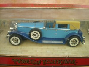 Matchbox Y-4 1930 Duesenberg Model J
