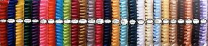 Pleated Ribbon for rosettes, crafts 26 colours Full 100 metre rolls.
