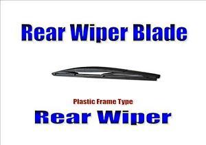 Rear Wiper Blade Back Windscreen Wiper For Nissan Note 2006-2016