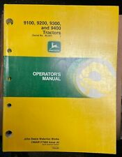 John Deere 9100 9200 9300 Amp 9400 Tractors Operator Manual Omar177989 J0 T 3