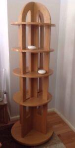 Circular Display Shelves / Round Book Shelves