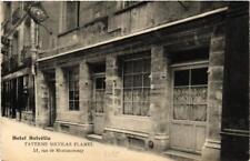 CPA PARIS (3e) TAVERNE NICOLAS FLAMEL 51, rue de Montmorency (564463)