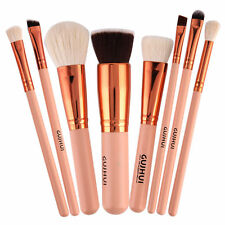 Pro 8pcs Makeup Brush Set Powder Foundation Eyeshadow Eyeliner Lip Brush Tool ##