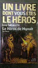 LDVELH Le Héros de Mynuit livre dont vous êtes héros Loup Solitaire