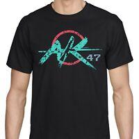 Men's ak-47 Gun Assault Rifle T Shirt Military Pro-gun 2nd Second Amendment tee
