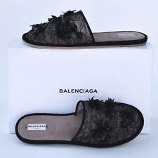 Balenciaga New sz 40 - 9.5 Runway Slippers Flats Slides Shoes $1545
