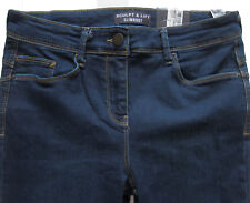 New Womens Marks & Spencer Blue Sculpt & Lift Slimboot Jeans Size 22 18 16 14 12