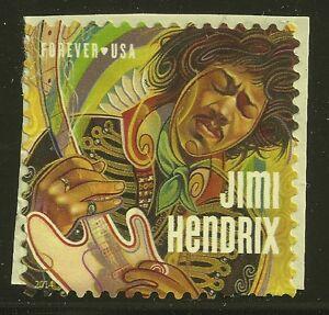 US Scott #4880, Single 2014 Jimi Hendrix VF MNH