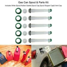 5Pcs Of Gas Can Fuel Spout Cap Kit Replacement Industrial Spout Parts Practial