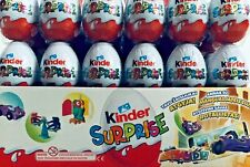 Kinder Chocolate eggs with surprise toy inside 10 pcs