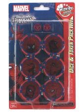 Marvel Heroclix The Amazing Spider-Man Dice & Token Pack Brand New Wizkids Neca